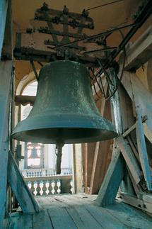Läuthaus im Turm der Stiftskirche