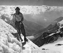 Bergsteiger beim Aufstieg auf den Großglockner