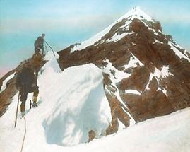 Gipfel des kleinen Glockners