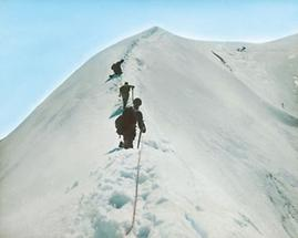 Aufstieg zum Wiesbachhorn