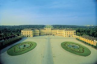 Blick auf Schönbrunn