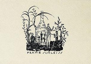 Briefcouvert des Keramik-Atelier Franz Schleiss