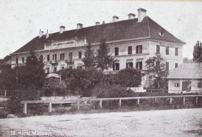 Hotel Laufhuber in Gmunden, © IMAGNO/Austrian Archives