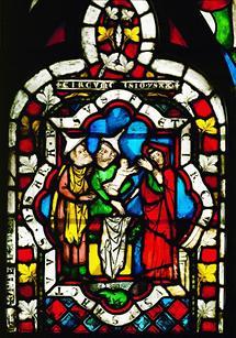 Kirchenfensterglas