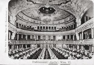 Apollo-Theater Innenansicht