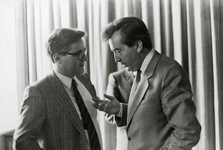 Alois Mock und Michael Graff