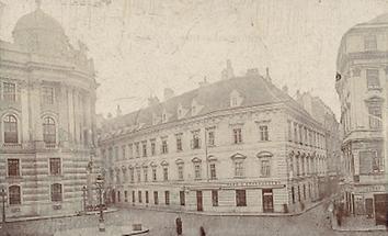 Das Café Griensteidl in Wien