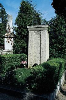 Grabstein von Gustav Mahler