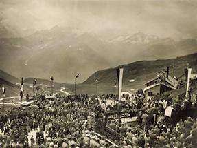 Feierliche Eröffnung der Großglockner-Hochalpenstraße