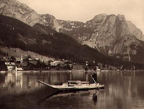 Bootsfahrt über den Grundlsee