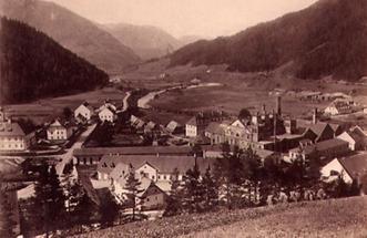 Stadtansicht Gusswerk bei Mariazell