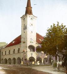 Das Rathaus in Gumpoldskirchen