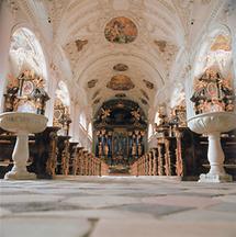 Inneres der Stiftskirche