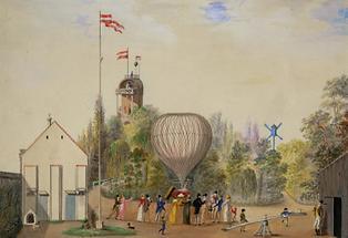 Die Ballonfahrerin Wilhelmine Reichard