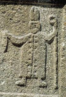Relief des heiligen St. Leonhard