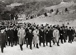 Eröffnung der Wiener Höhenstrasse (1)