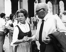 Attila Hörbiger und Ehefrau Paula Wessely