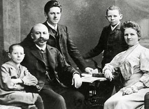 Portrait Familie Hörbiger