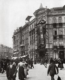 Der Stock-im-Eisen-Platz in Wien