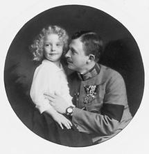 Kaiser Karl I und Otto von Habsburg