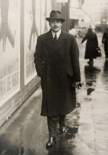 Otto von Habsburg in Paris