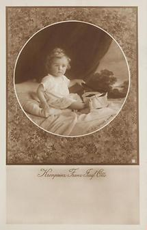 Kronprinz Franz Josef Otto von Habsburg