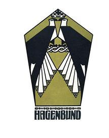 Katalog-Illustration von Josef Urban für den Hagenbund
