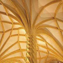 Gewölbedetail der Pfarrkirche Haidershofen