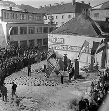75 Jahr- Feier der SPÖ in Hainfeld.