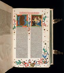 Illuminierte Handschrift (1)