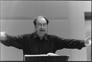 Dirigent Nikolaus Harnoncourt