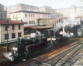 Die Stadtbahnstation Hauptzollamt in Wien