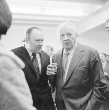 Friedrich Heer und Fritz Wotruba