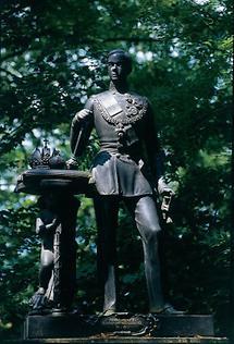 Statue des jungen Kaisers Franz Joseph