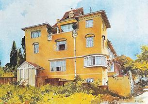 Villa Dr. Hugo Henneberg in Wien XIX.