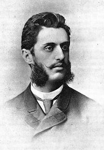 Theodor Herzl als Gerichtspraktikant