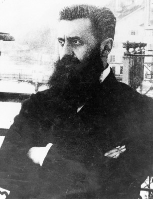 Portrait: Theodor Herzl in Basel, © IMAGNO/Austrian Archives