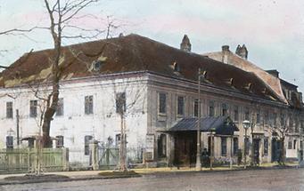 Das alte Casino Dommayer in Hietzing