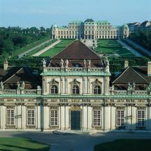 Wien: Schloß Belvedere (1)