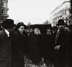 Begräbnis von Irael Friedmann (2)