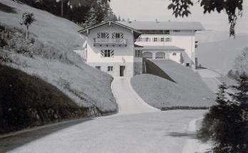 Der Berghof von Adolf Hitler am Obersalzberg