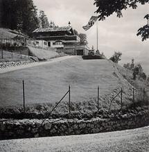 Adolf Hitler am Obersalzberg bei Berchtesgaden