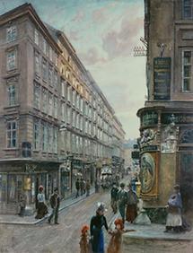 Spiegelgasse in Wien