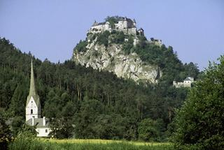 Die Burg Hochosterwitz in Kärnten