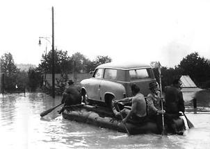 Bergung eines Autos