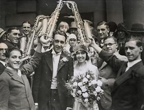 Hochzeit eines Bandleaders