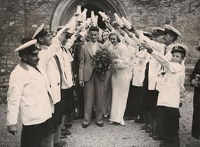 Hochzeit eines Milchmanns