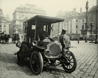 Taxichauffeure, © IMAGNO/Austrian Archives