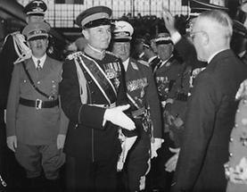 Prinzregent Paul von Jugoslawien und Adolf Hitler