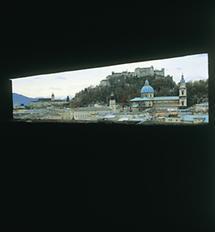 Blick auf die barocke Altstadt von Salzburg